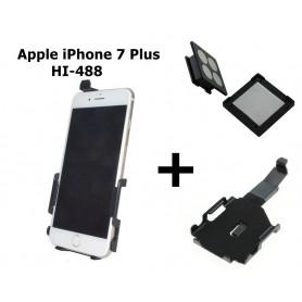 Haicom - Haicom magnetische houder voor Apple iPhone 7 Plus HI-488 - Auto magnetisch telefoonhouder - ON4544-SET www.NedRo.nl