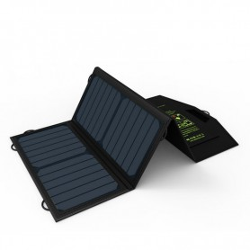 ALLPOWERS - 21W Portable Dual 5V 2.4A Output Sunpower Solar Panel Charger - Solar panels and wind turbines - AL834 www.NedRo.us