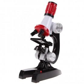 Unbranded - 100x-1200x Zoom Educatieve microscoop met LED Licht - Loepen en Microscopen - AL832 www.NedRo.nl