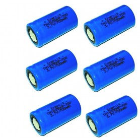 Enercig - Enercig IMR18350 700mAh 14A (20C) Unprotected - Other formats - NK144-6x www.NedRo.us