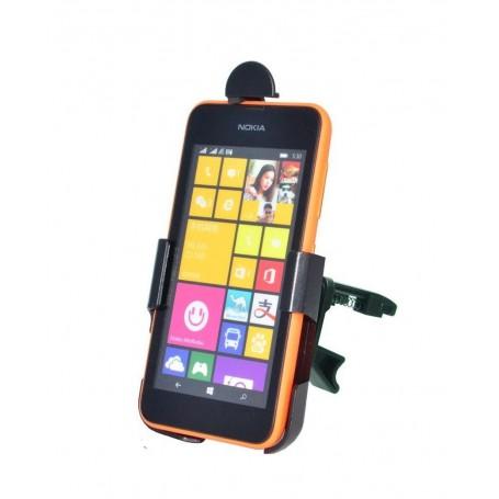 Haicom - Auto Ventilator Haicom klem houder voor Nokia Lumia 530 HI-386 - Auto ventilator telefoonhouder - ON4583-SET www.Ned...