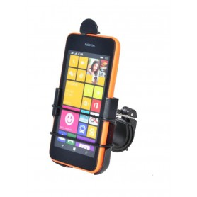 Haicom - Haicom bicycle phone holder for Nokia Lumia 530 HI-386 - Bicycle phone holder - ON4585-SET www.NedRo.us