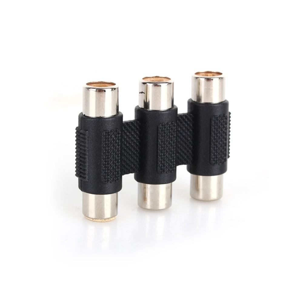 - RCA 3 Triple to RGB Coupler Adapter Connector AV Cable WWCL033 - Adaptoare audio - AL826 www.NedRo.ro