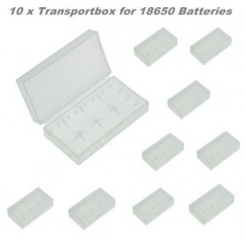 OTB - Transportbox for 18650 Batteries - Diverse - ON1726-10x www.NedRo.ro