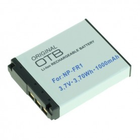 Batterij voor Sony NP-FR1 Li-Ion 1000mAh