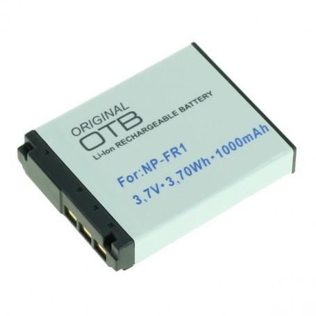 OTB, Batterij voor Sony NP-FR1 Li-Ion 1000mAh, Sony foto-video batterijen, ON1453, EtronixCenter.com