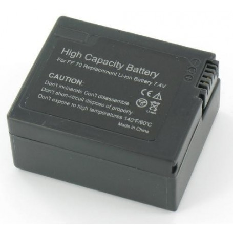 NedRo - Battery compatible with Sony NP-FF70 - Sony photo-video batteries - GX-V180