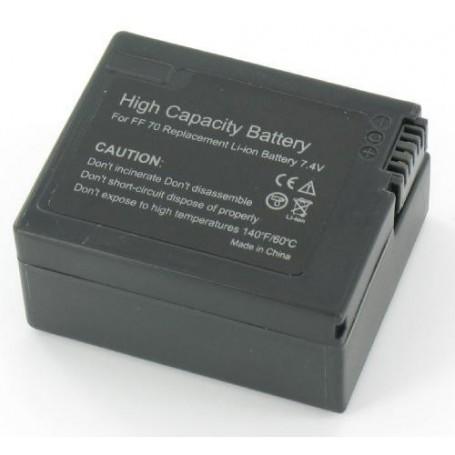 NedRo, Accu Batterij compatible met Sony NP-FF70, Sony foto-video batterijen, V180, EtronixCenter.com
