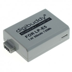 OTB - Battery for Canon LP-E5 Li-Ion ON1595 - Canon photo-video batteries - ON1595-C www.NedRo.us