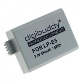 OTB - Battery for Canon LP-E5 Li-Ion - Canon photo-video batteries - ON1595-C www.NedRo.us