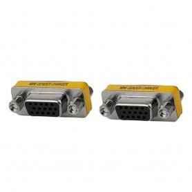 NedRo - Panou Perete Dublu VGA Mamă la VGA Mamă - Adaptoare VGA - AL729 www.NedRo.ro