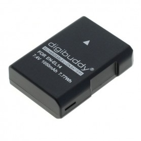 digibuddy - Battery for Nikon EN-EL14 / EN-EL14a Li-Ion 1050mAh - Nikon photo-video batteries - ON4590 www.NedRo.us