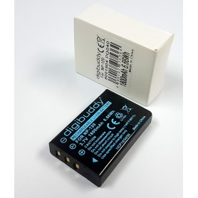 digibuddy - Accu voor Fuji NP-120 1800mAh ON2659 - Fujifilm foto-video batterijen - ON2659 www.NedRo.nl