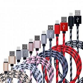 NedRo - USB Type C (USB-C) naar USB Metallic Hi-Q - USB naar USB C kabels - AL721-K www.NedRo.nl