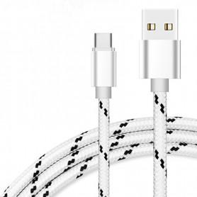 Oem - USB Type C (USB-C) to USB Metallic Hi-Q - USB to USB C cables - AL721-K-CB