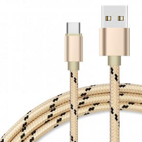 NedRo - USB Tip C (USB-C) la USB Metallic Hi-Q - Cabluri USB la USB C - AL535 www.NedRo.ro