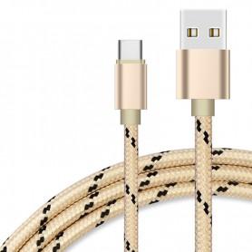 NedRo - USB Type C (USB-C) naar USB Metallic Hi-Q - USB naar USB C kabels - AL535 www.NedRo.nl