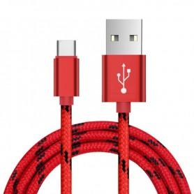 NedRo - USB Type C (USB-C) naar USB Metallic Hi-Q - USB naar USB C kabels - AL718-K www.NedRo.nl