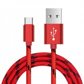 NedRo - USB Type C (USB-C) to USB Metallic Hi-Q - USB to USB C cables - AL718-K www.NedRo.us