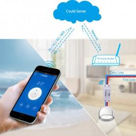 WiFi Smart Home 10A / 2200W Smart Switch Unit