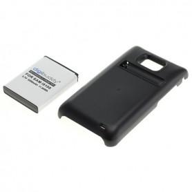 Batterij voor Samsung Galaxy S2 i9100 FAT verhoogde capaciteit met backcover