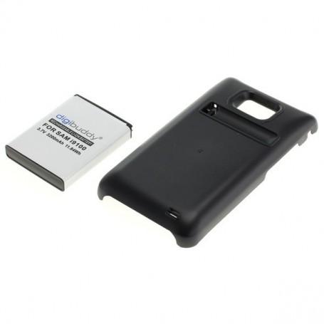 OTB, Batterij voor Samsung Galaxy S2 i9100 FAT verhoogde capaciteit met backcover, Samsung telefoonaccu's, ON005, EtronixCent...