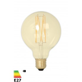 Calex - Vintage LED Lamp 240V 4W 320lm E27 GLB95 GOLD 2100K Dimmable - Vintage Antique - CA078-CB www.NedRo.us