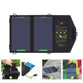 ALLPOWERS - 10W Portable Output 5V 1.6A Sunpower Solar Panel Charger - Solar panels and wind turbines - AL672 www.NedRo.us