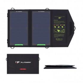 ALLPOWERS - 10W Draagbare Output 5V 1.6A Zonnepaneel Lader - Zonnepanelen en Windturbines - AL672 www.NedRo.nl