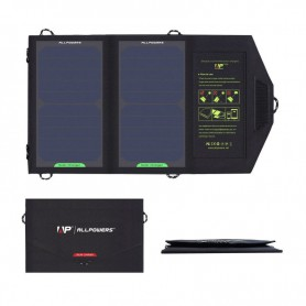 ALLPOWERS - 10W Ieșire 5V 1.6A Panou Solar încărcător Solar - Panouri solare și turbine eoliene - AL672 www.NedRo.ro