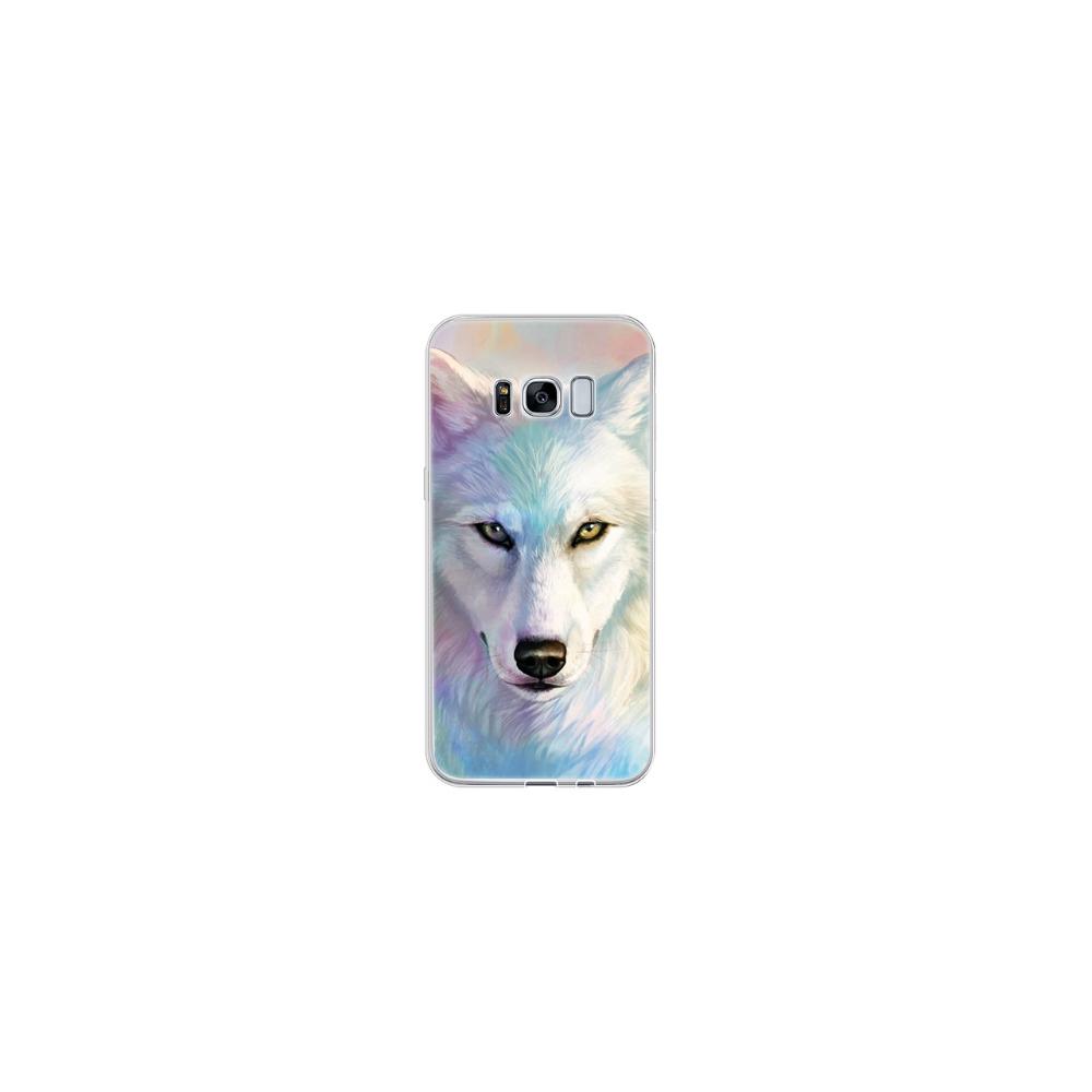 TPU Case voor Samsung Galaxy S8 White Wolf