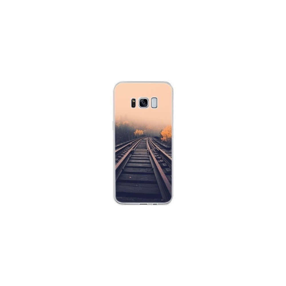 TPU Case voor Samsung Galaxy S8 Mystery Railway