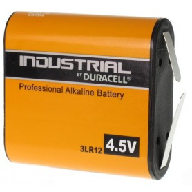 Duracell, Baterie plata Duracell Industrial 3LR12 4.5V, Format C D 4.5V XL, BL240-CB, EtronixCenter.com