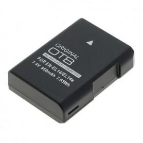 OTB - Acumulator pentru Nikon EN-EL14 / EN-EL14A Li-Ion Ultima versiune 950mAh - Nikon baterii foto-video - ON4603 www.NedRo.ro