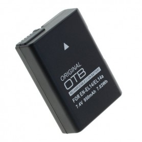 OTB - Acumulator pentru Nikon EN-EL14 / EN-EL14A Li-Ion Ultima versiune 950mAh - Nikon baterii foto-video - ON4603-C www.NedR...