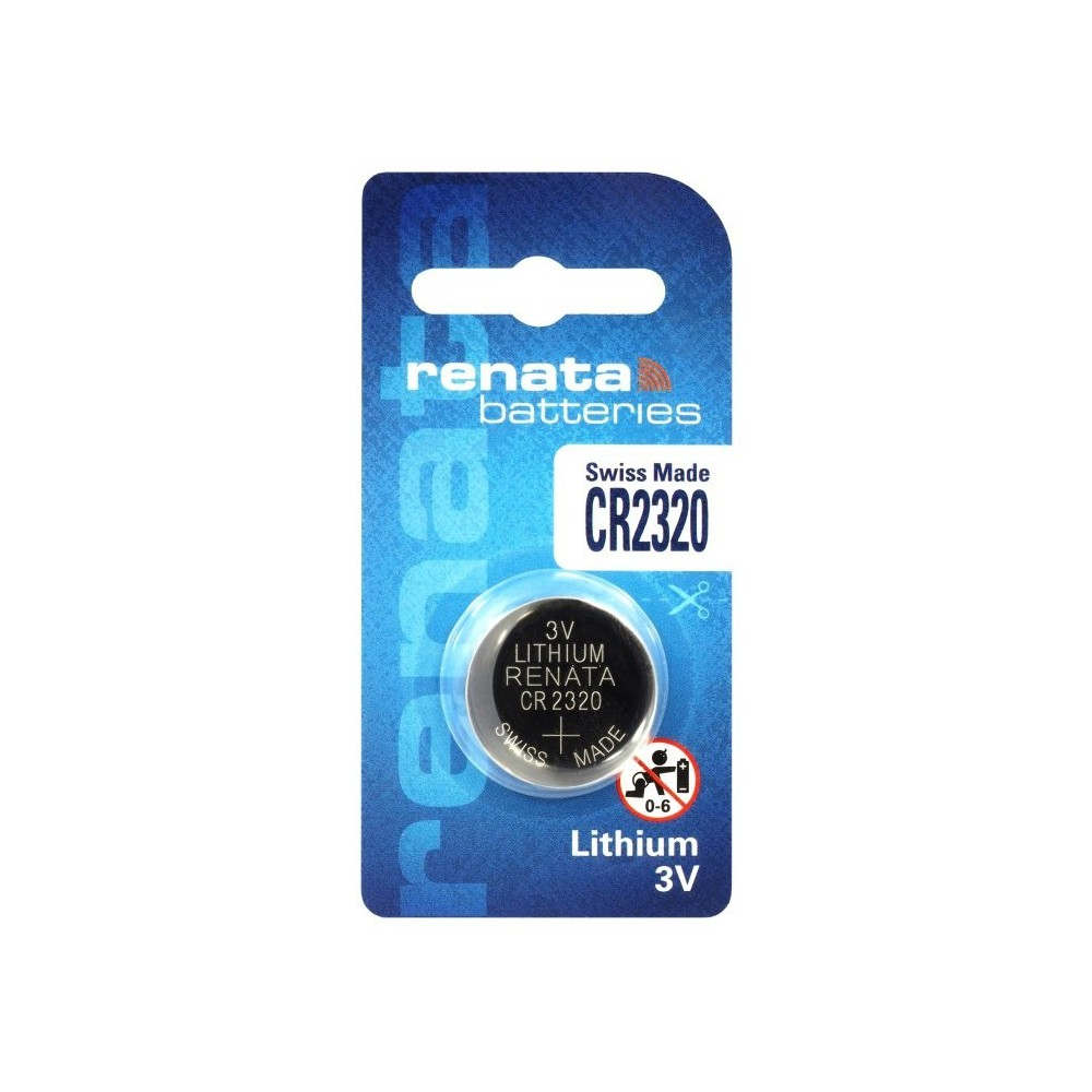 Swiss Made CR2320 Renata lithium knoopcel batterij