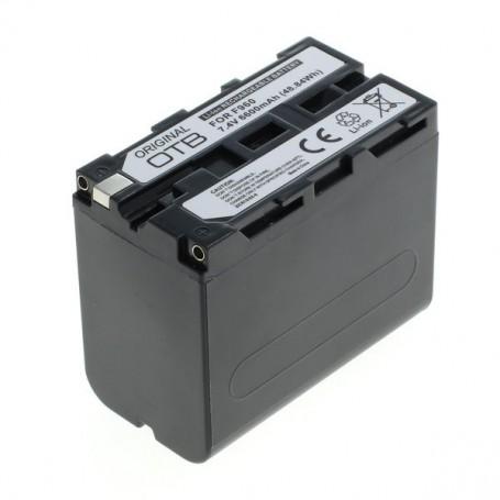 OTB, Batterij voor Sony NP-F960 / NP-F970 Li-Ion 6600mAh, Sony foto-video batterijen, ON1455, EtronixCenter.com