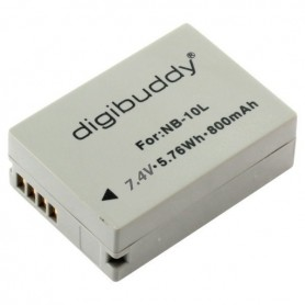 digibuddy, Accu voor Canon NB-10L 800mAh ON2666, Canon foto-video batterijen, ON2666, EtronixCenter.com