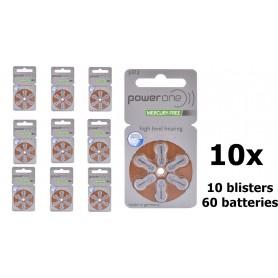 Varta - Power One by Varta 312 / PR312 / PR41 baterii aparate auditive - Baterii plate - BS088-CB www.NedRo.ro