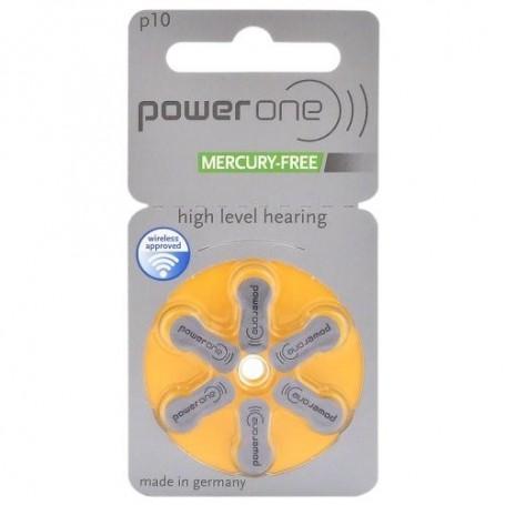 Power One by Varta 312 / PR312 / PR41 Gehoorapparaat batterijen