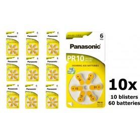 Panasonic - Panasonic 10 MF Gehoorapparaat batterijen - Knoopcellen - BL251-CB www.NedRo.nl
