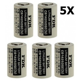 OTB - FDK Battery CR14250SE Lithium 3V 850mAh bulk - Other formats - ON1338-5x www.NedRo.us