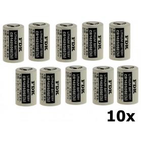 OTB - FDK Batterij CR14250SE Lithium 3V 850mAh bulk - Andere formaten - ON1338-10x www.NedRo.nl