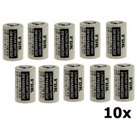 OTB - FDK Battery CR14250SE Lithium 3V 850mAh bulk - Other formats - ON1338-10x www.NedRo.us