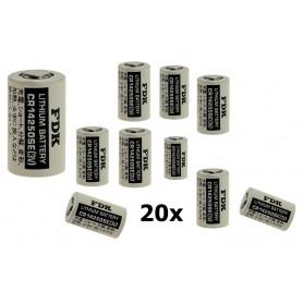 OTB - FDK Batterij CR14250SE Lithium 3V 850mAh bulk - Andere formaten - ON1338-20x www.NedRo.nl