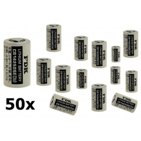 OTB - FDK Battery CR14250SE Lithium 3V 850mAh bulk - Other formats - ON1338-50x www.NedRo.us