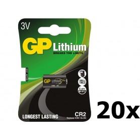 GP - GP CR2 DLCR2 EL1CR2 CR15H270 Lithium batterij - Andere formaten - BL179-20x www.NedRo.nl