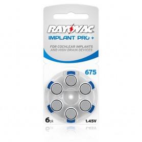 Rayovac, Rayovac 675 IMPLANT PRO+ baterii aparate auditive, Baterii plate, BL256-CB, EtronixCenter.com
