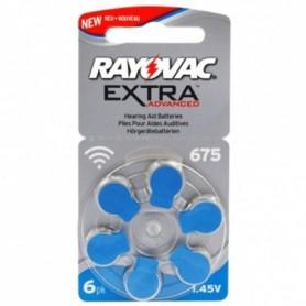 Rayovac 675 Extra Advanced Gehoorapparaat batterijen