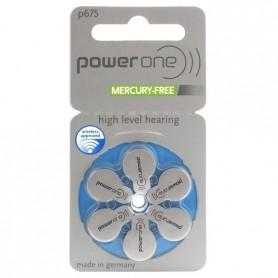 Varta, Power One 675, PR44 1.45V Baterie pentru auditive - fără mercur, Baterii plate, BS085-CB, EtronixCenter.com